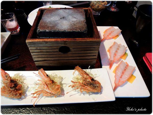 (海的肴)岩燒石板鮮蝦-1.JPG