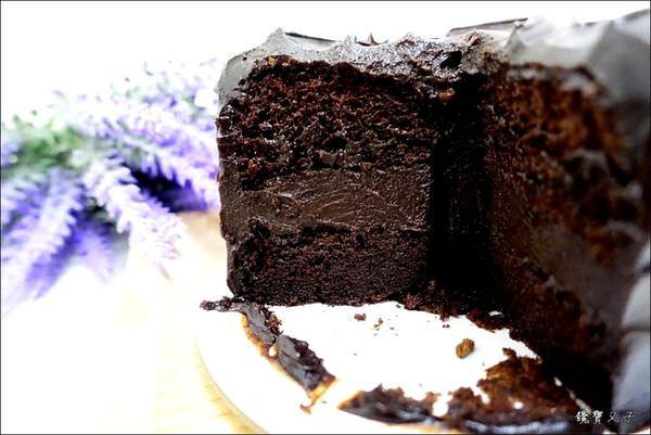 Black As Chocolate 頂級巧克力蛋糕 (25).JPG