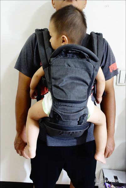 MiaMily健康護脊嬰兒背帶 (22).JPG